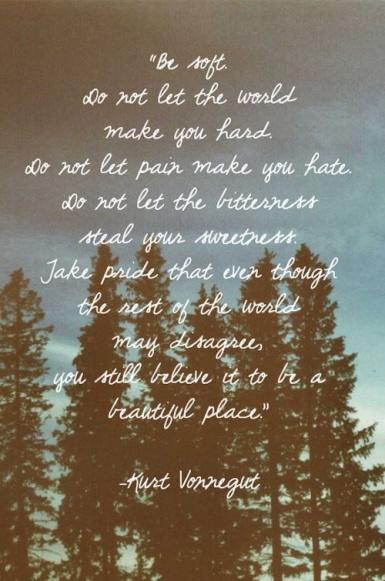 Kurt Vonnegut forest